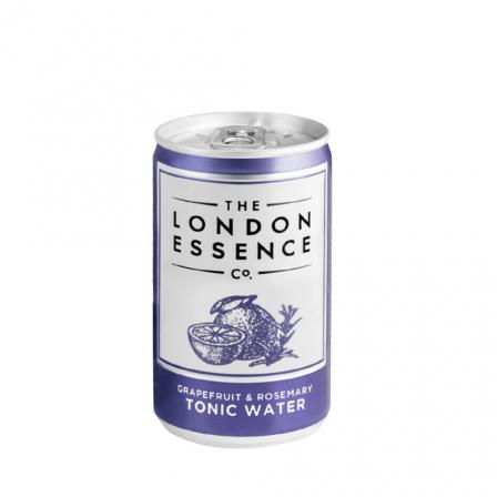 24 X London Essence Co. Grapefruit & Rosemary Tonic 150ml Cans