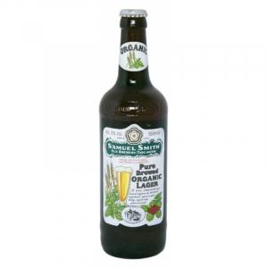 24 X Samuel Smith Pure Organic Lager Case 355ml