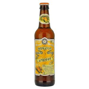 24 X Samuel Smiths Organic Apricot Fruit 355ml