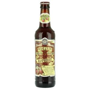 24 X Samuel Smiths Organic Raspberry Fruit 355ml