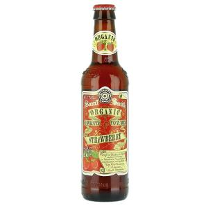 24 X Samuel Smiths Organic Strawberry Fruit 355ml