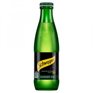 24 X Schweppes Canadian Dry Ginger 200ml