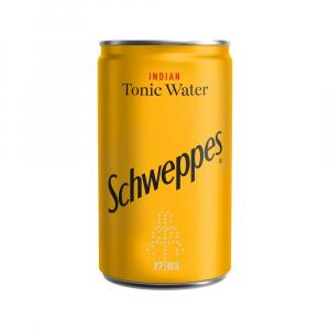 24 X Schweppes Indian Tonic 150ml Cans