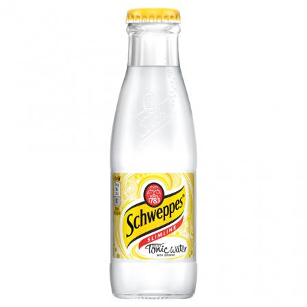 24 X Schweppes Slimline Indian Tonic 125ml