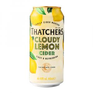 24 X Thatchers Cloudy Lemon Cider Cans 440ml