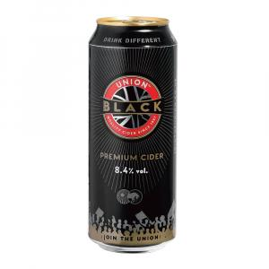 24 X Union Black Cider 500ml Cans