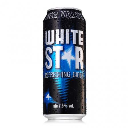 24 X White Star 50cl