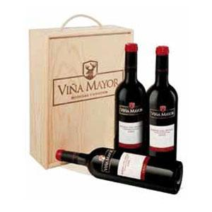 3 botellas Viña Mayor Crianza 2008