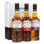 3 X Bowmore Collection Of Whiskies 20cl Gift Tasting
