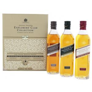 3 X Johnnie Walker Explorers' Club Collection 200ml
