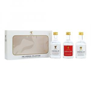 3 X Liverpool Gin & Vodka Collection