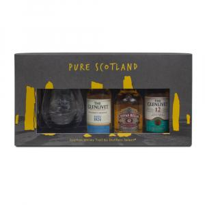 3 X Scottish Whisky Trail By Distillers Select Gift Set