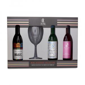 3 X Wine Discovery Collection Gift Set 187ml