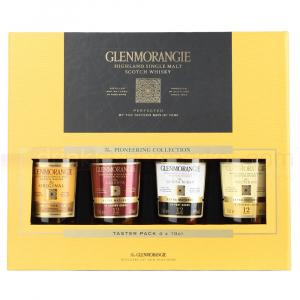 4 X Glenmorangie Pioneering Collection Taster Set 100ml