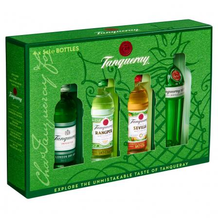 4 X Tanqueray Gin Exploration Set 50ml