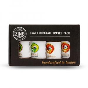 4 X World Of Zing Tequila Lovers Cocktail 50ml