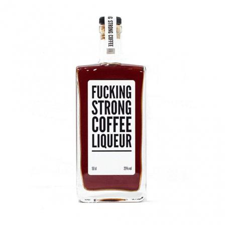 6 X F*cking Strong Coffee Liqueur 50cl