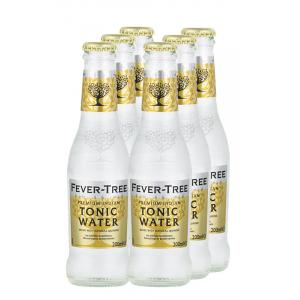 6 X Fever Tree Tonic Water
