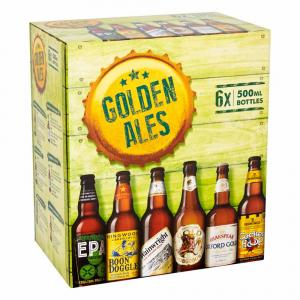 6 X Marstons Golden Ales Selection 50cl