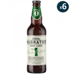 6 X Mcgrath's Craft Irish Lager 50ml