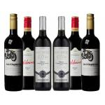 6 X Soft and Easy Drinking Red Wine Mixed Case