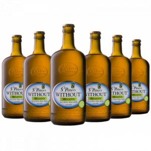 6 X St Peter's Organic alcoholfree 3L