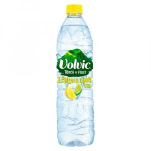 6 X Volvic Touch Of Fruits Lemon & Lime Low Sugar