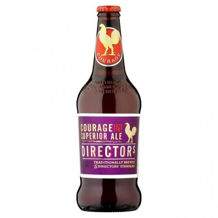 8 X Courage Director Traditionally Brewed 50cl