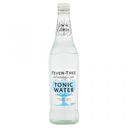 8 X Fever Tree Naturally Light Tonic 500ml