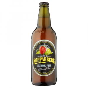8 X Kopparberg Strawberry & Lime Alcohol Free Cider 50cl
