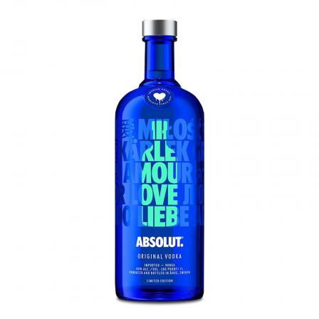 Absolut Drop Of Love 1L