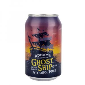 Adnams Ghost Ship Alcohol Free Golden Can