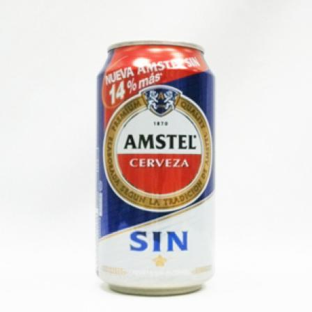 Amstel Can alcohol-free