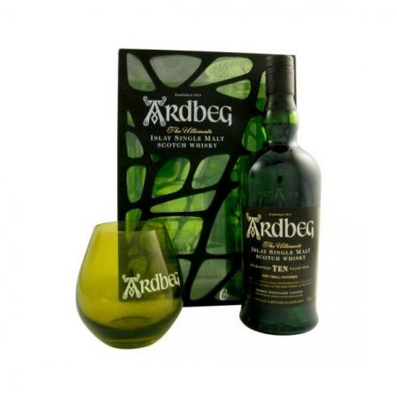 Ardbeg 10 Years Camouflage With Glass