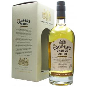 Ardmore Coopers Choice Single Cask 17 Year old 2003
