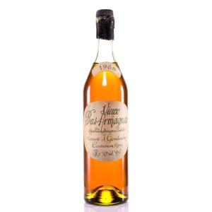 Armagnac Goudoulin Veuve J. Old Bottling 1968