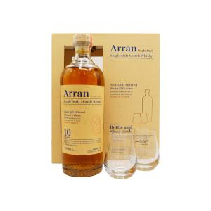Arran Glass Pack & 10 Year old