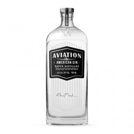 Aviation Gin Signed By Ryan Reynolds