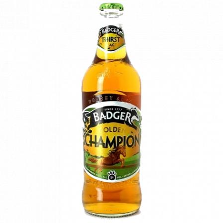 Badger Golden Champion 50cl