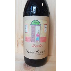 Barolo Bartolo Mascarello Artistic Label Woman Near The Door 2015