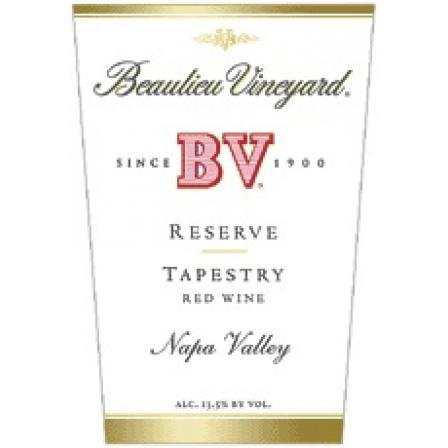 Beaulieu Vineyard Tapestry Reserve  1995