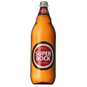 Beer Super Bock Bottle 1L