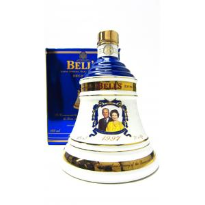 Bells Decanter Queens 50th Golden Wedding Anniversary 8 Year old