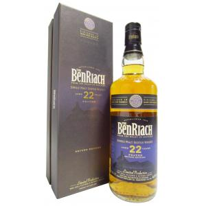 Benriach Dunder Peated Dark Rum Finish 2nd Edition 22 Year old