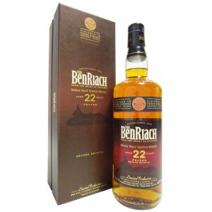 Benriach Peated Pedro Ximenez Sherry Finish 2nd Edition 22 Year old