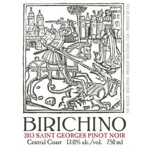 Birichino Saint Georges Pinot Noir Central Coast 2015