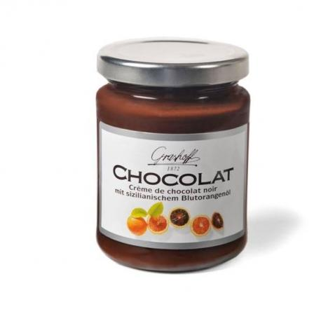 Black Chocolate and Orange Sanguine Cream 250g