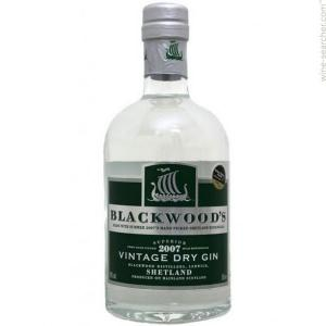 Blackwoods Vintage Dry Gin Superior Limited Edition 2007