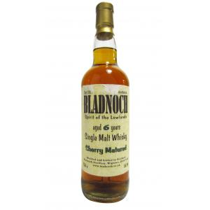 Bladnoch Sherry Matured 6 Year old