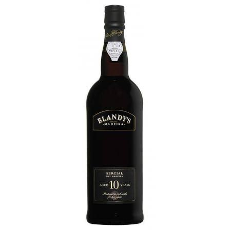 Blandy Sercial 10 Years Old Dry Madeira 50cl